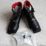 Ботинки лыжные р40. Фото 1.