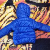 Куртка- бомбер детская весна/осень 74 р. Фото 2.