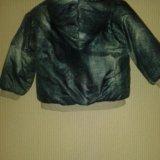 Куртка теплая 1,5-2г (86см). Фото 2.