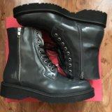 Новые кожаные ботинки george j love. Фото 1.