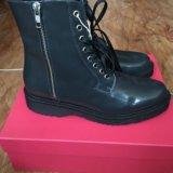 Новые кожаные ботинки george j love. Фото 3.