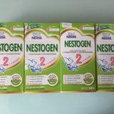 Молочная смесь nestogen 2, с 6 мес., 350 гр.. Фото 1.