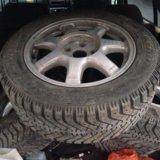 Колеса( диски с шинами) зима. Фото 2.