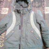 Куртка деми на рост 122-125. Фото 1.