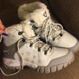 Зимние женские ботинки спортивного плана. Фото 1. Реутов.