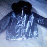 Стильная шубка-курточка из кролика. Фото 2.