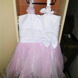 Платье с шубкой. Фото 3. Лобня.