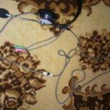Наушники с микрофоном. Фото 1.