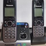 Радиотелефон dect panasonic kx-tg6722ru. Фото 1. Москва.