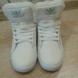 34-34,5 размер теплые новые кроссовки. Фото 3.