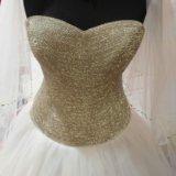 Свадебное платье кристалл. Фото 1.