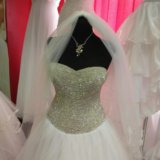 Свадебное платье кристалл. Фото 4.