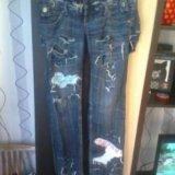 Дизайнерские джинсы.44-46. размер. Фото 1. Челябинск.