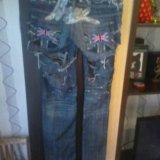 Дизайнерские джинсы.44-46. размер. Фото 2. Челябинск.