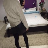 Zara кожаные шорты.. Фото 1. Ярославль.