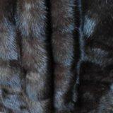 Новая норковая шуба поперечка 100 см. Фото 3.