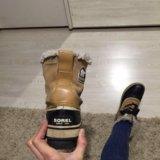 Ботинки осенние непромокаемые. тёплые.sorel.. Фото 3.