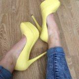 Туфли на высоком каблуке 👠. Фото 1.