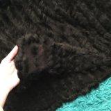Накидка из натурального меха кролика. Фото 4.