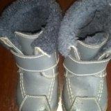 Детские ботинки. осень, начало зимы.р-р 22. Фото 2.