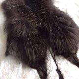 Жилетка из чернобурки. Фото 1.