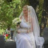 Свадебное платье!фата,перчатки!. Фото 2. Краснодар.