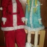 Дед мороз и снегурка. Фото 1.