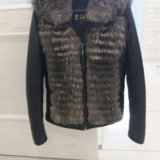 Кожаная куртка с мехом чернобурки. Фото 4. Чебоксары.