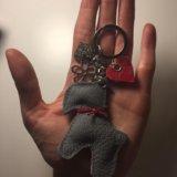 Кожаный брелок для ключей/на сумку. Фото 2. Красноярск.