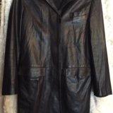 Женское, итальянское пальто из натуральной кожи. Фото 1. Москва.