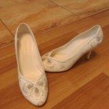 Туфли свадебные. Фото 4.