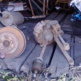 Ступици задние легаси 96 год. Фото 1. Южно-Сахалинск.
