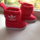 Adidas зимние сапожки. Фото 1.