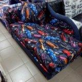 Детский диван тачки. Фото 1.