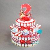 Торт из киндеров на день рождения. Фото 1. Сертолово.