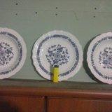 Тарелки кузнецовские в сохране. Фото 1.