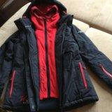 Новая горнолыжная куртка 44-46. Фото 2.