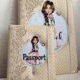Блокнот и обложка на паспорт. Фото 1. Уфа.