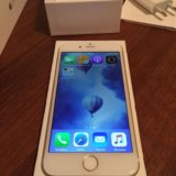 Iphone 6 16gb gold. Фото 1.
