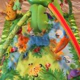 Развивающий коврик «тропический лес» fisher price. Фото 3.