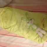 Конверт для малыша с ушками 🐰🐰. Фото 1.