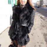 Меховая куртка-жилетка. Фото 1.