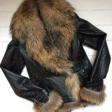 Кожаная куртка. Фото 1. Гатчина.