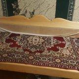 Деревянный тапчан. Фото 1.