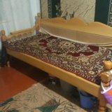 Деревянный тапчан. Фото 2.