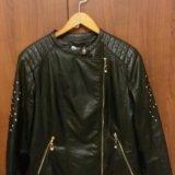 Куртка эко кожа. Фото 1. Тула.