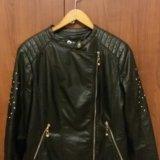 Куртка эко кожа. Фото 2. Тула.