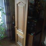Дверь дубовая. Фото 1.