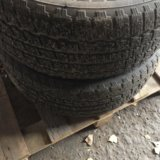 Колёса литые с зимней резины для бмв3. Фото 2.