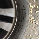 Колёса литые с зимней резины для бмв3. Фото 4.